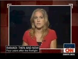 Arwa Damon, envoyée spéciale de CNN à Damas