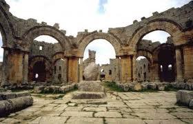 syrie deir seman monastere pandocheion saint siméon le stylite basilique