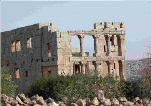 syrie deir seman monastere pandocheion saint siméon le stylite
