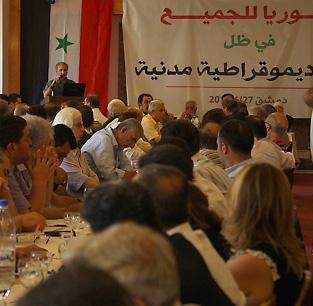 Première réunion de l'opposition réformiste à Damas, fin juin