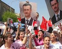 Jeunes pour Bachar al-Assad