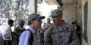 Robert Ford, ambassadeur des Etats-Unis d'Amérique, en visite aux opposants au régime de Bachar al-Assad, à Hama