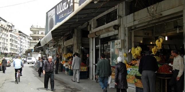 Une rue - jusque-là paisible - de Homs