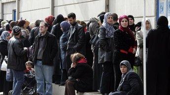 Irakien réfugiés en Syrie
