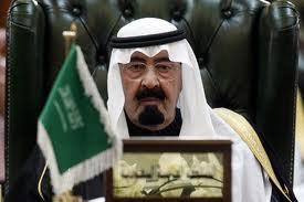 S.A.R. Abdallah d'Arabie saoudite ne supporte plus les atteintes aux droits de l'homme (en Syrie)
