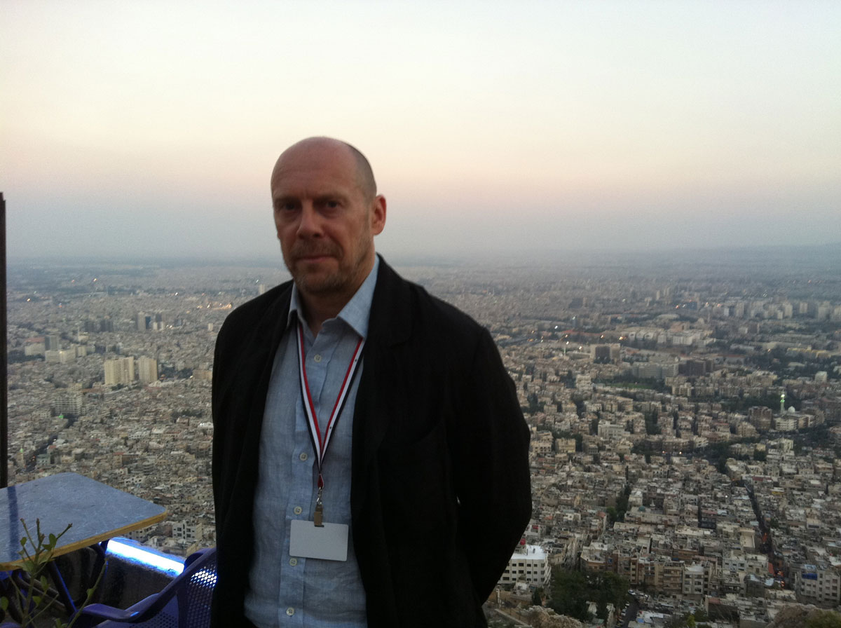 Coucher de soleil sur Damas et Alain Soral
