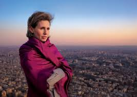 Photo originale d'Asma al-Assad