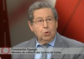 Constantin Sayegh, constituant du Parti Démocrate-Chrétien (PDC) à Genève