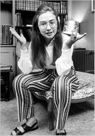 """Le """"sens de l'histoire"""" personnelle d'Hillary C. : du gauchisme sixties..."""