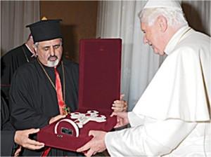 Mgr Younan et Benoït XVI : une mise en garde très claire - et oubliée - à Juppé et à l'Union européenne