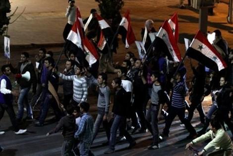 Damascènes pro-Bachar en mars dernier : Le Monde lui-même confirme qu'ils existent toujours