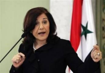 Bouthayna Chabaane aux Turcs : à fermeté turque, fermeté et demie syrienne !
