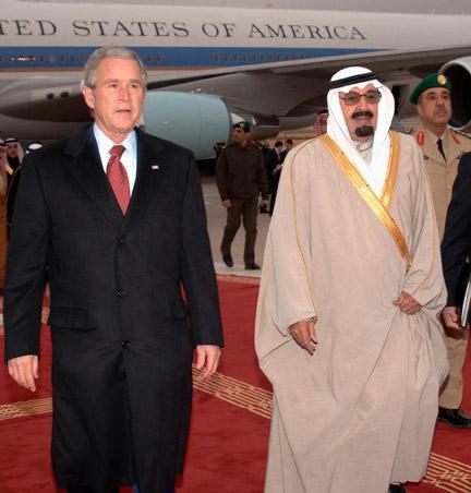 Janvier 2008 : S.A.R. Abdallah accueille un grand avocat de la cause des peuples, notamment arabes