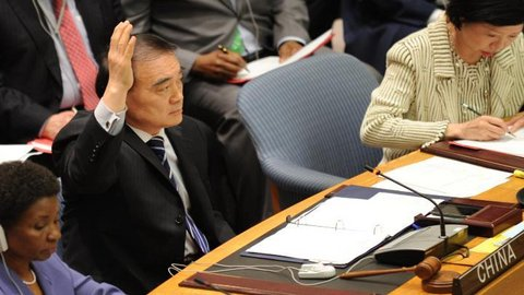 """A l'ONU, sur la Syrie, la Chine veut donner un """"feu rouge"""" à Washington"""