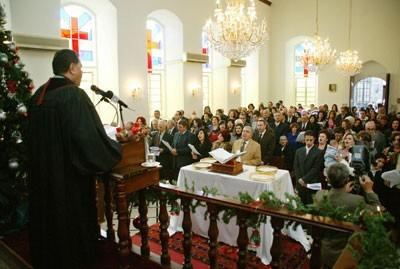 Messe de Noël 2010 à Damas