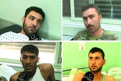 Quatre des policiers blessés à Homs parlent à la télévision syrienne