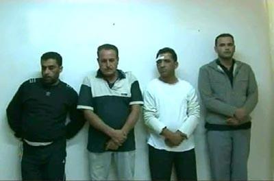 Quatre activistes arrêtés, en possession d'explosifs, le 21 septembre à Deraa