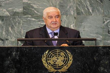 Walid al-Mouallem à la tribune de l'ONU, lundi : désinformation et ingérence sont les deux mammelles de l'impérialisme US