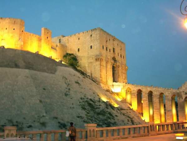 Alep : la citadelle du Xe siècle