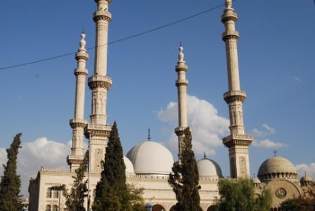 A Alep, comme dans le reste du pays, église et mosquée cohabitent