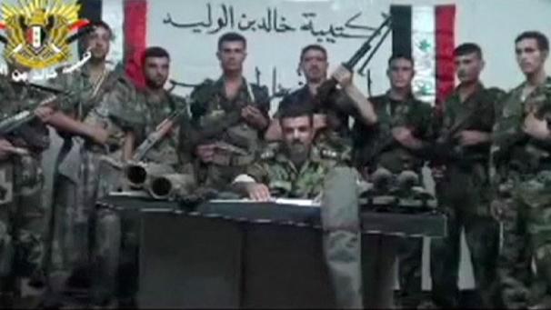 C'est la dernière tendance de l'opposition syrienne, le déserteur radicalisé....