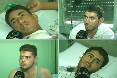 Quatre des soldats blessés dans les combats de Rastan, interrogés par la télévision syrienne