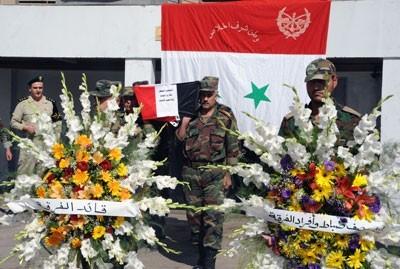 Obsèques de militaires victimes du devoir, le 3 octobre
