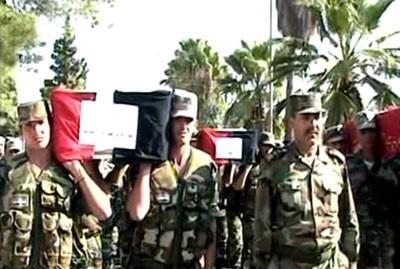Hôpital militaire de Homs, lundi 17 octobre...