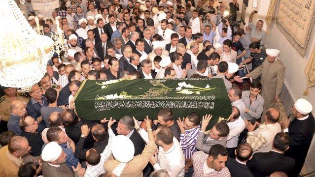 Enterrement de Sariah Hassoun, fils du grand Mufti de Syrie