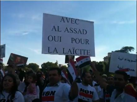 ... et pro-Bachar parisiens : devinez quels sont les chouchous de Sarkozy-Guéant ?