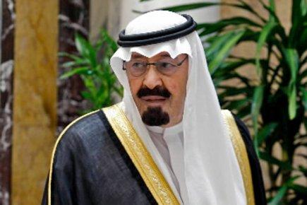 Abdallah d'Arabie Séoudite...
