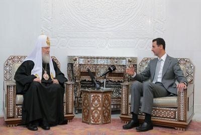 """Le patriarche Cyrille : """"La Syrie est un modèle de cohésion islamo-chrétienne"""""""