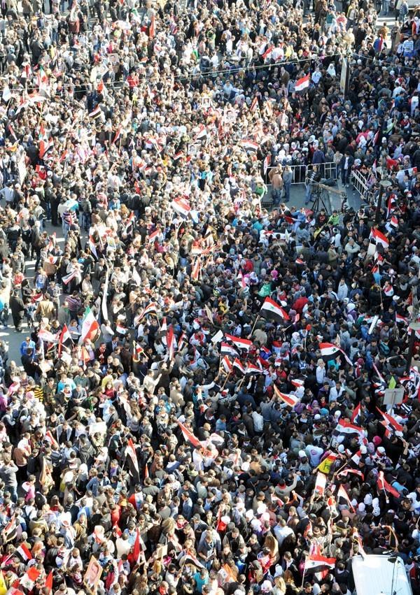 Damas, place al-Hijaz , dimanche 20 novembre