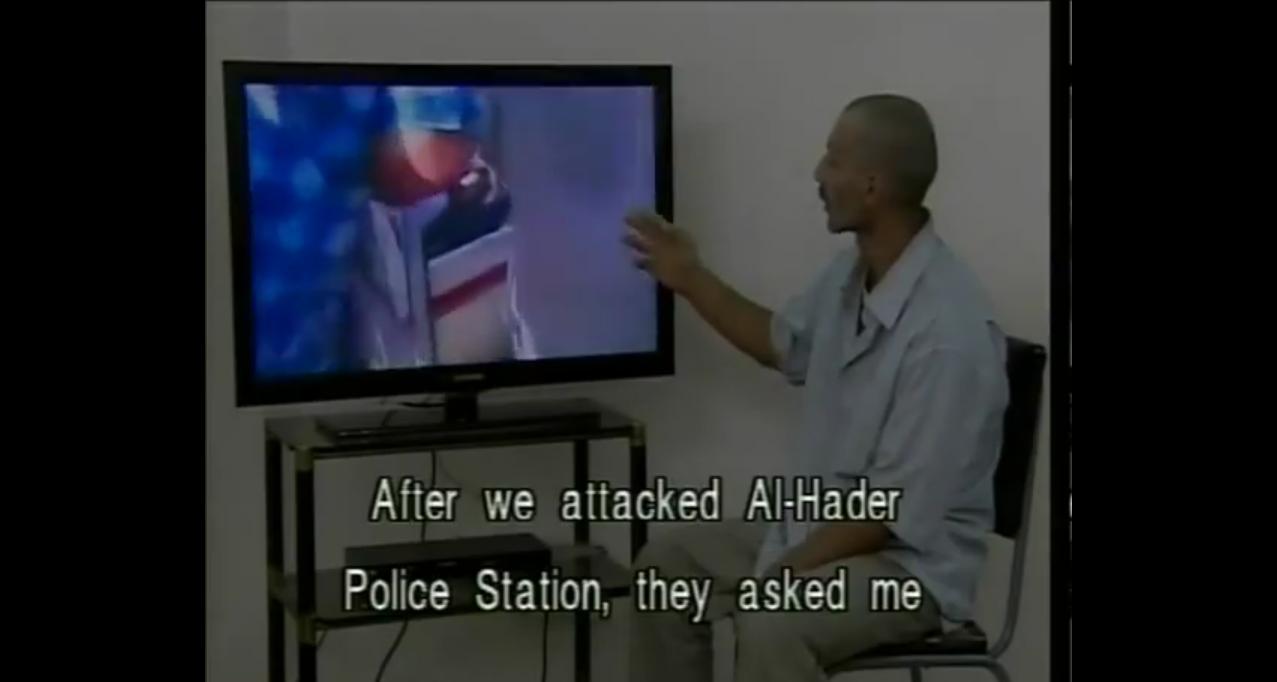 Un des terroristes de Hama, arrêté, explique comment lui et ses amis ont massacré les policiers avant de jeter leurs corps dans l'Oronte