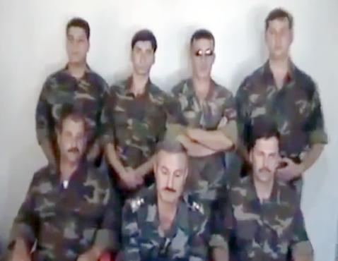 Le colonel Ryad al-Asaad et son état-major de l'ASL : l'ultime espoir du clan BHL
