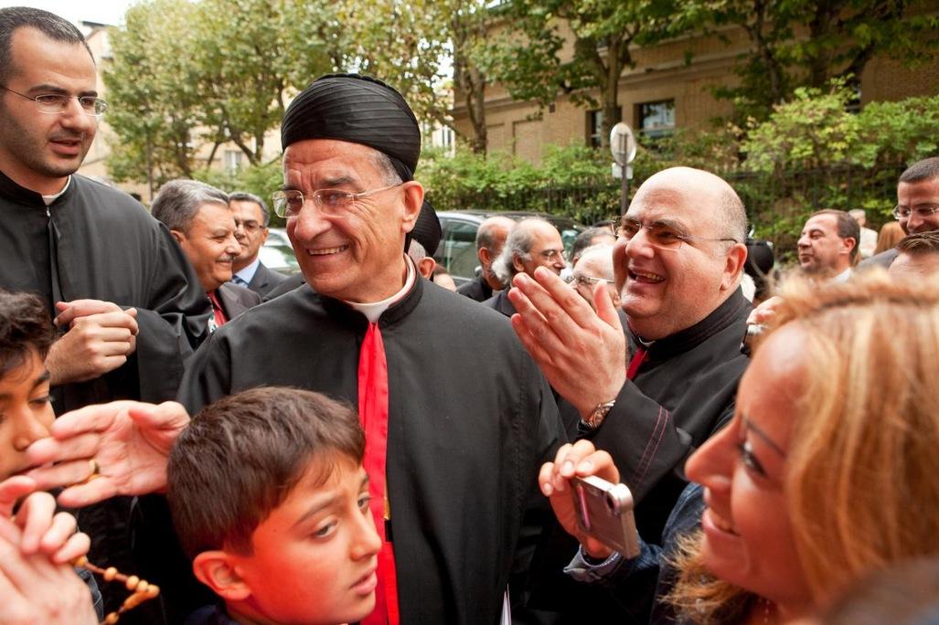 """Mgr Raï en viste en France, en septembre dernier : pour Pons & consorts, un dignitaire chrétien pro-Bachar est forcément """"tenu"""""""