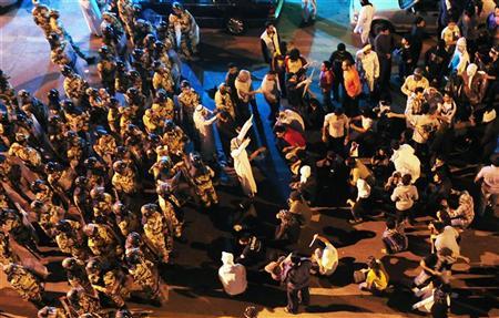 Rassemblement d'opposants chiites en Arabie séoudite, en mars dernier