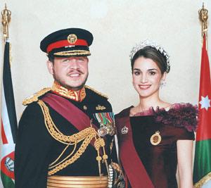 Le roi et la reine de Jordanie : certes plus glamour que ses collègues du Golfe, Abdallah est lui aussi tenu par l'islamo-américanisme