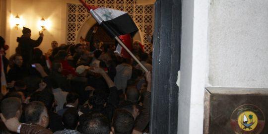 """Damas : opération """"portes ouvertes"""" à l'ambassade séoudienne"""
