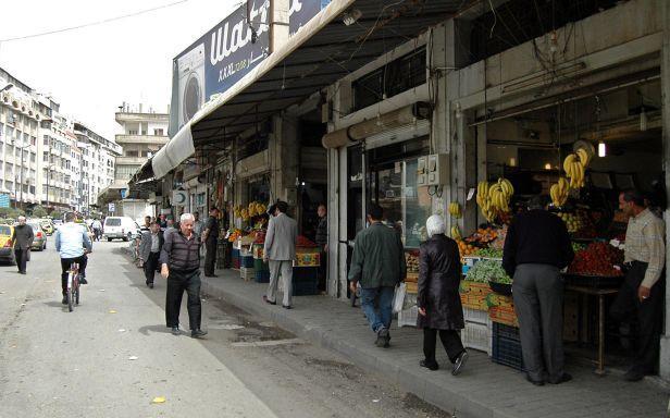 Un aspect - paisible cette fois - du centre-ville de Homs