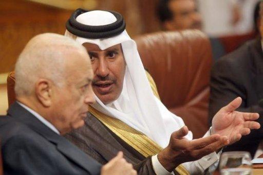 Nabil al-Arabi et cheikh ben Jassem : deux compères, pour ne pas dire deux complices...