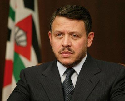 ... Abdallah II de Jordanie..