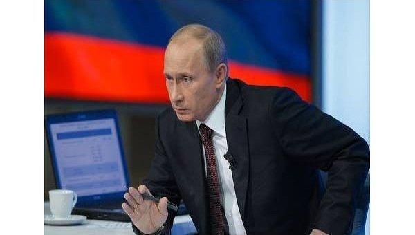 """Poutine face aux téléspectateurs russes, le 15 décembre : il ne sera pas le """"vassal"""" de l'Oncle Sam"""