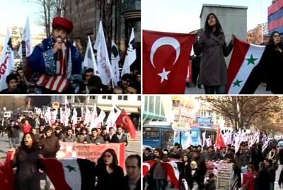 Ankara, le 3 décembre : l'autre Turquie...
