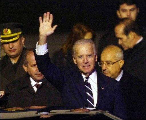 Jeiudi 1er décembre, Ankara : début de la visite d'inspection de Joe Biden, n°2 américain, en Turquie