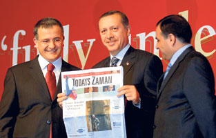 Photo prouvant que Today's Zaman est plus proche d'Erdogan que de Bachar....