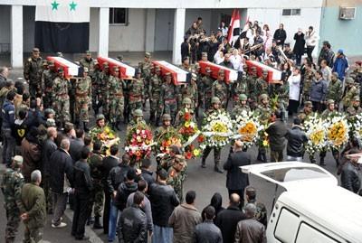 Hôpital militaire de Damas-Tichrine, le 30 janvier