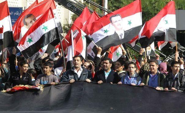 les partisans du régime sont très nombreux sur Facebook aussi, et même majoritaires !