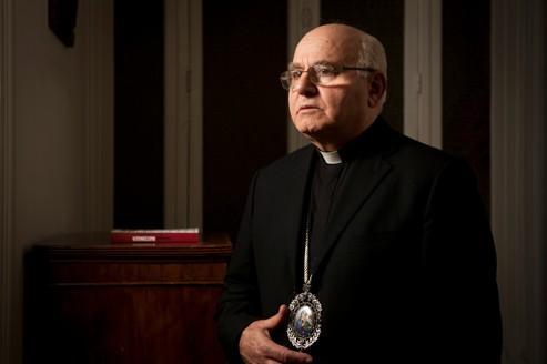 Mgr Jeanbart, archevêque d'Alep ne comprend pas la position de la France sur la Syrie. Nous aurions bien des explications à lui fournir...