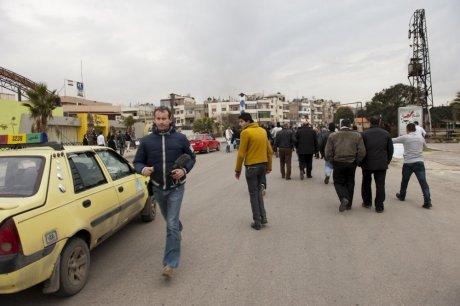 """Gilles Jacquier à Homs, le matin précédant le drame : sa mort est une illustration tragique des """"simplifications"""" de la classe médiatique française sur la Syrie"""